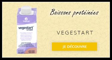 Boissons protéinées : Vegestart