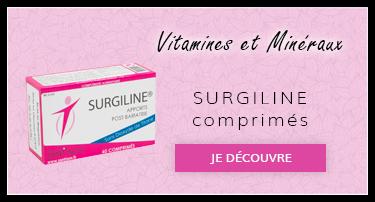 Vitamines et mineraux : Surgiline comprimés