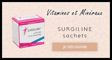 Vitamines et mineraux : Surgiline sachets